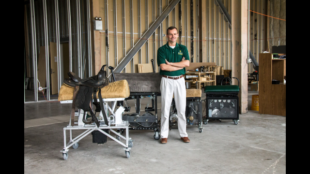 New Start-up Company Markets Baylor Engineering Professor's Innovative Hippotherapy System