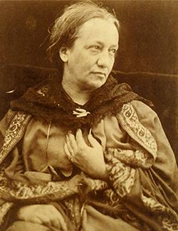 Photo of Julia Margaret Cameron
