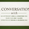 Baylor Conversations Series with University Leadership Set in Texas, U.S. Cities