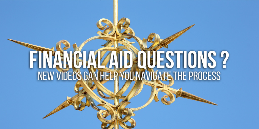 Financial Aid Questions ?