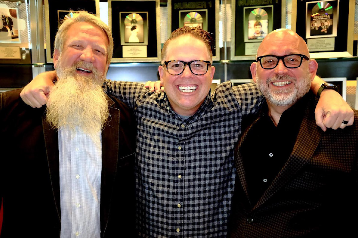 Left to right: Scott Brickell, Bart Millard, Jeff Moseley