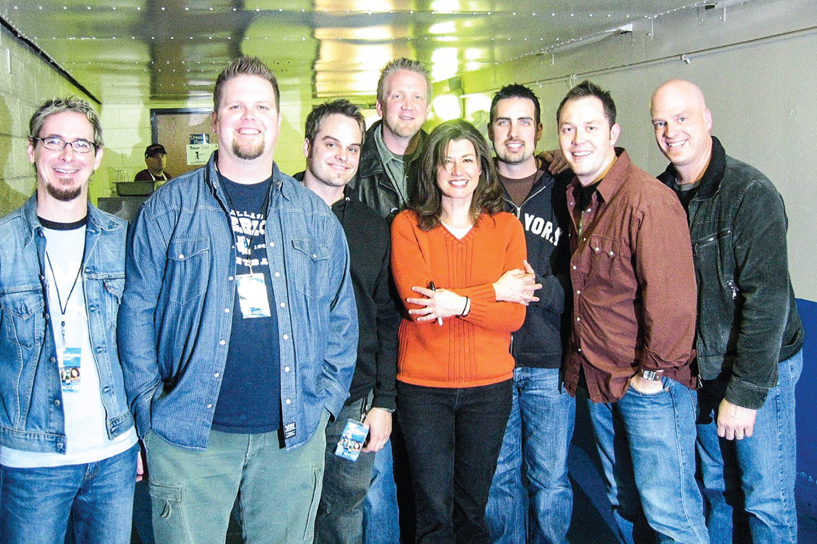 March 8, 2004: Brickell, MercyMe and Amy Grant wrap up the Imagine tour