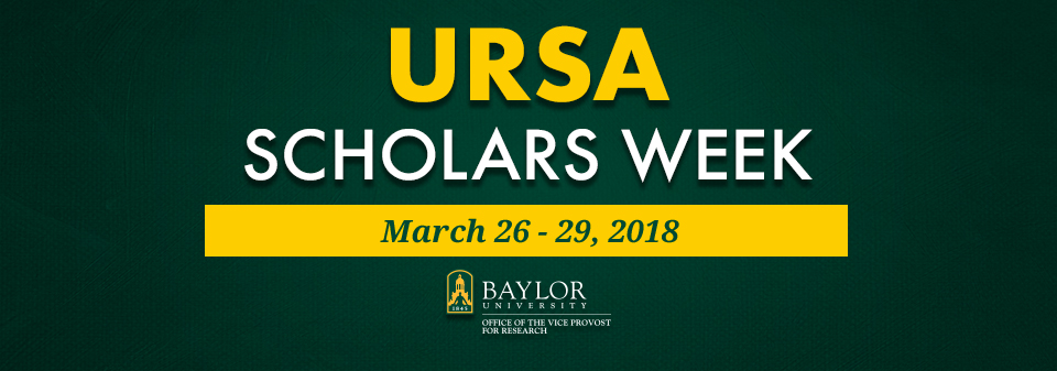2018 URSA Scholars Week