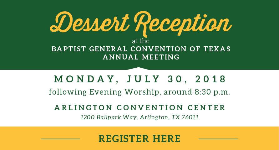 2018 BGCT Dessert Reception