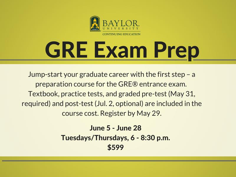 GRE Exam Prep