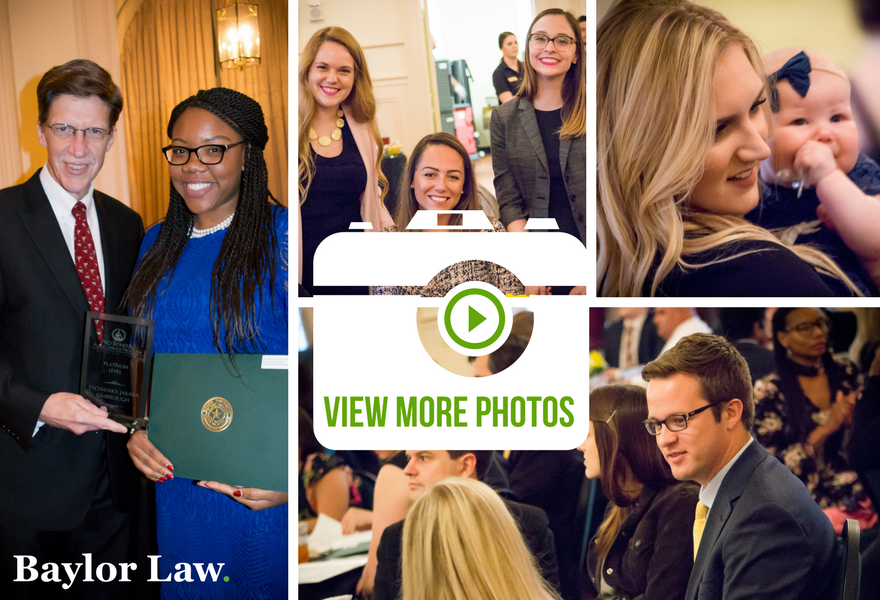 Cover of the Baylor Law Student Awards