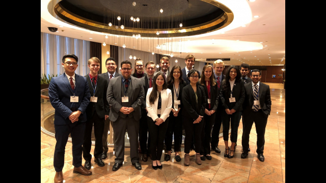 Baylor Model UN Team April 2018