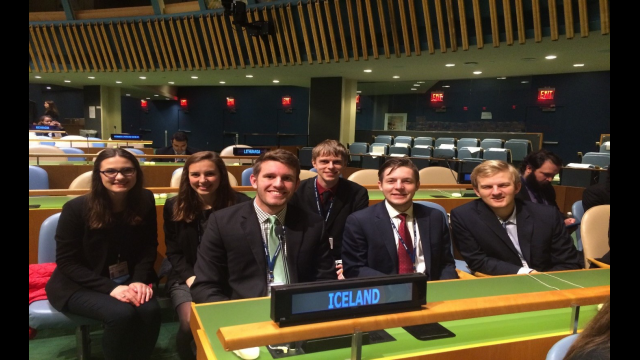 Baylor Model UN Team April 2018 3