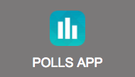 Polls App Button