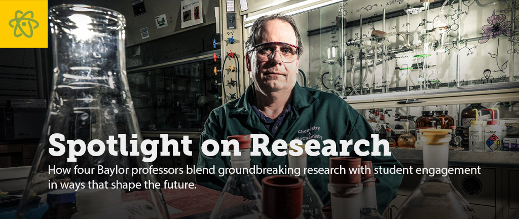Slider - Spotlight on Research (Baylor Magazine)