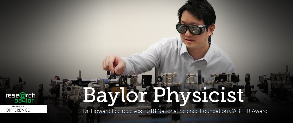 Slider - Dr. Howard Lee - NSF Career Award