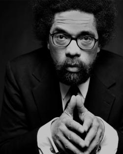 Headshot of Cornel West