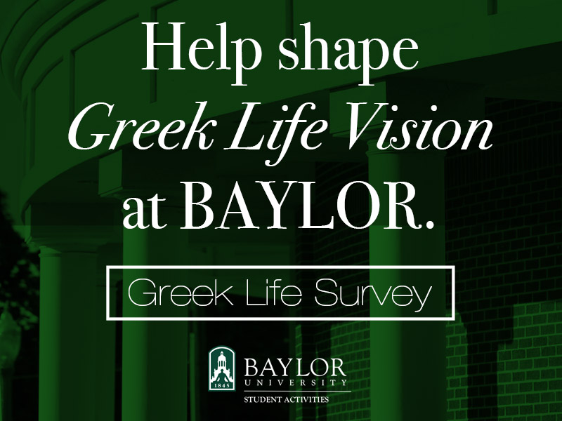Greek Life Vision