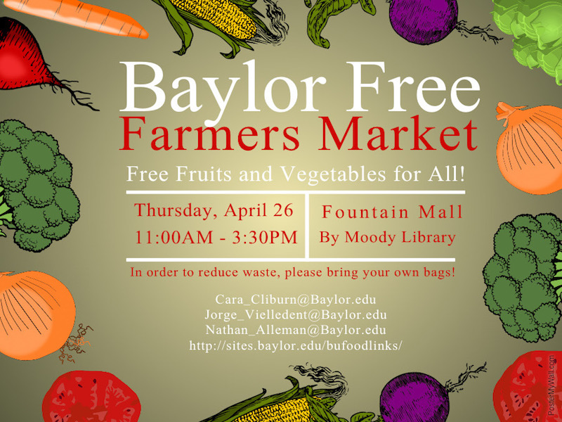 Baylor Free Farmers Market