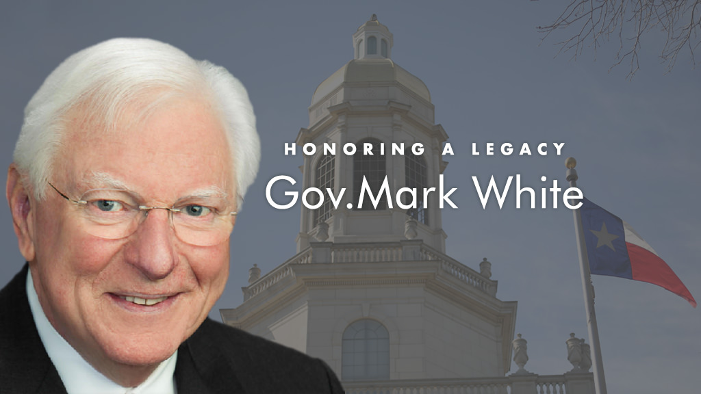 In Memory of Governor Mark White