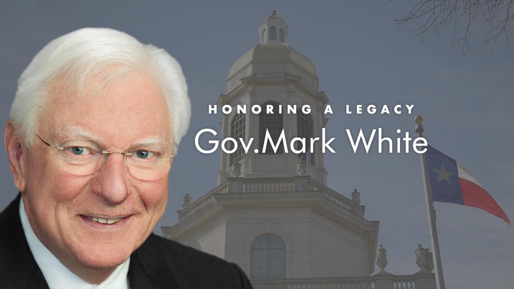 In Memory of Governor Mark White