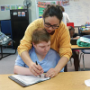 Baylor Juniors Making a Difference in SPED Classroom