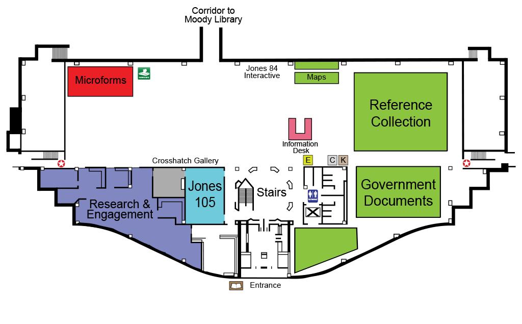 Floor maps libraries baylor university floor maps ccuart Gallery