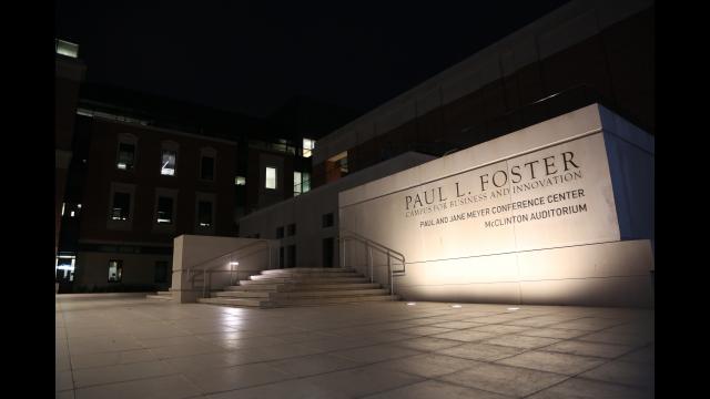 Foster campus building