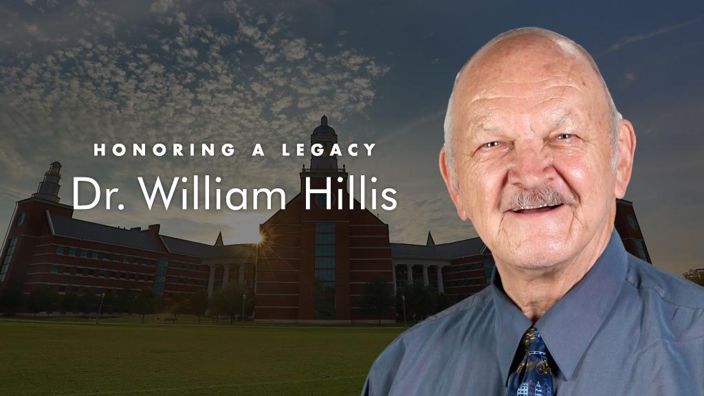 In Memory of Dr. William Hillis