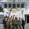Group of US Army-Baylor Students Tour the USNS Comfort