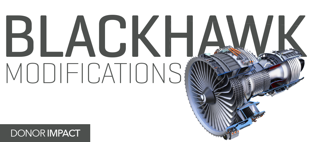 Title Treatment: Blackhawk Modifications
