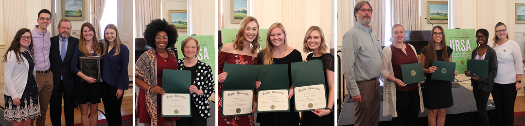 Baylor - Undergraduate Research and Scholarly Achievement - Awards