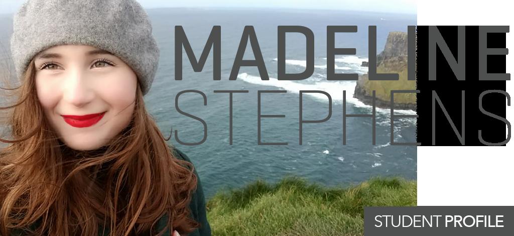 Headshot of Madeline Stephens, Student Profile