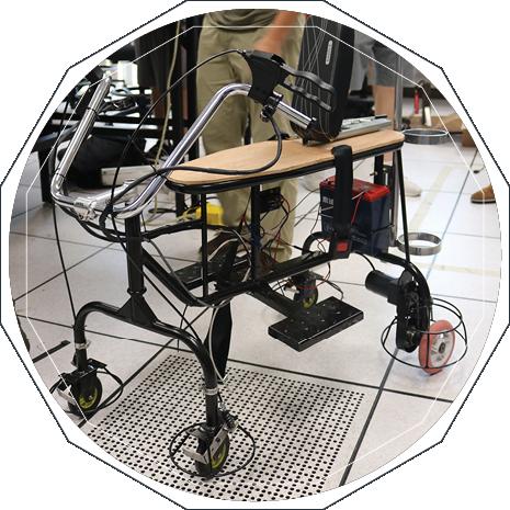 Photo of hand-built robotic machine