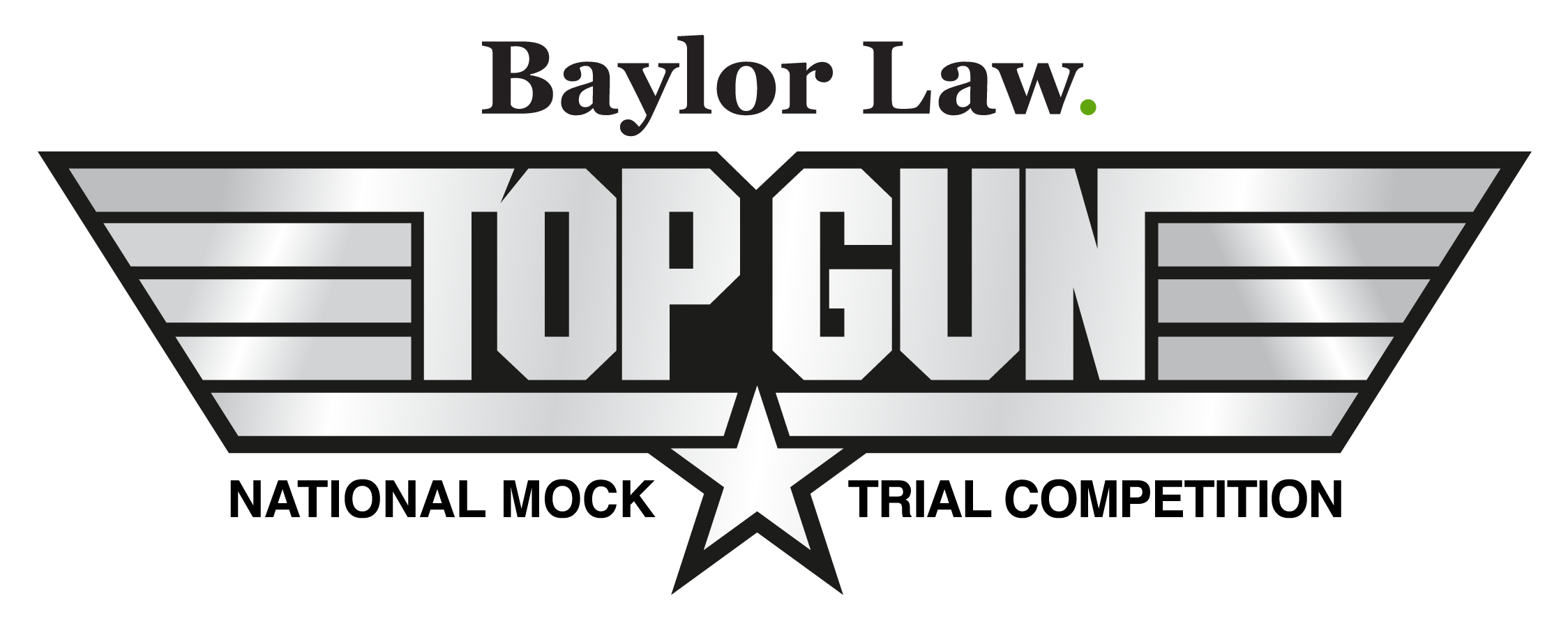 TOP GUN mock trial competition banner