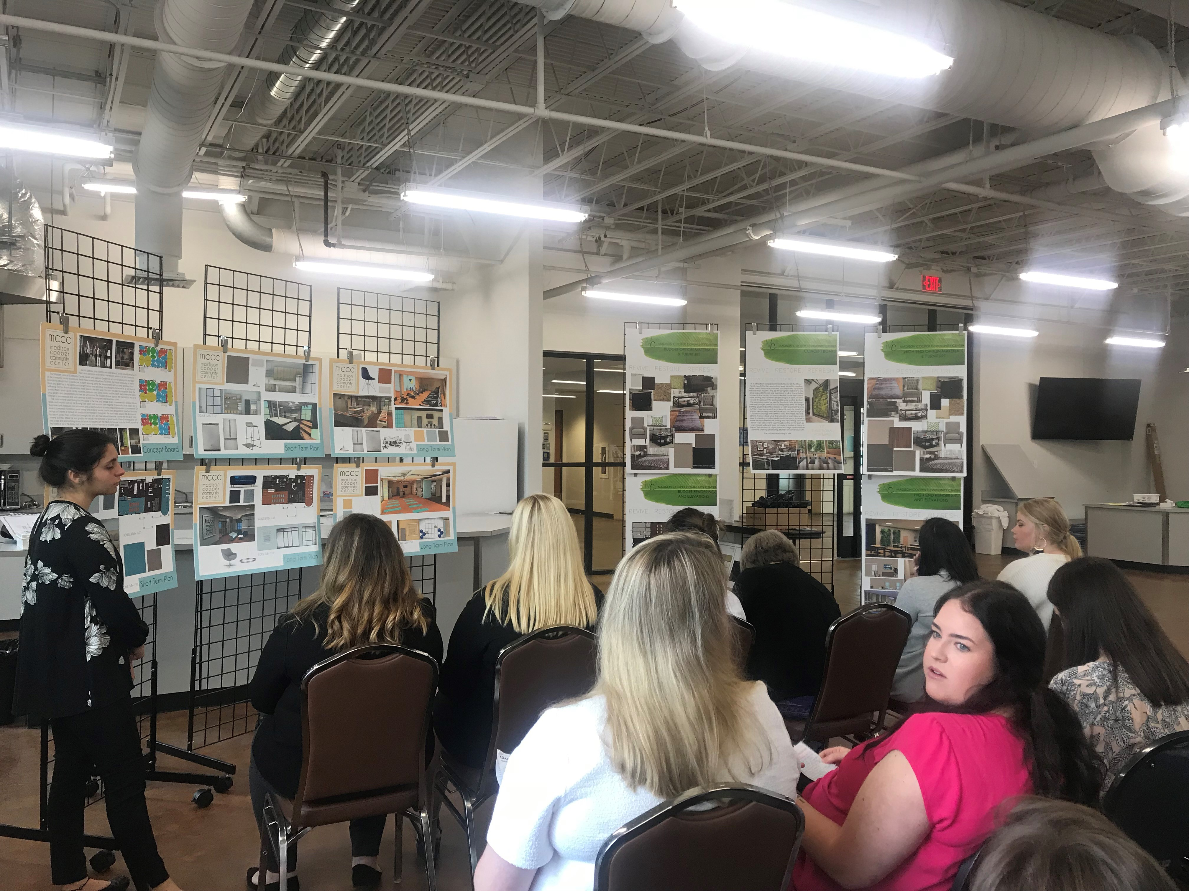 Baylor University Interior Design Students Propose Ideas To Waco Wellness Center Media