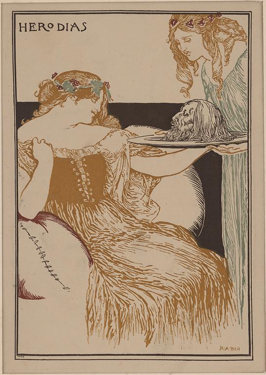 Anning R. Bell, Herodias, 1895