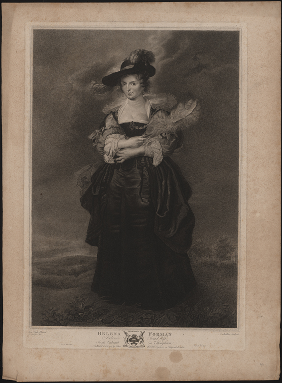 Attributed to Peter Paul Rubens, Helena Forman, 1783