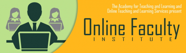 Online Faculty Institute Banner