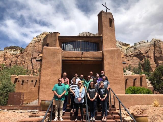 Truett Students at the Monastery