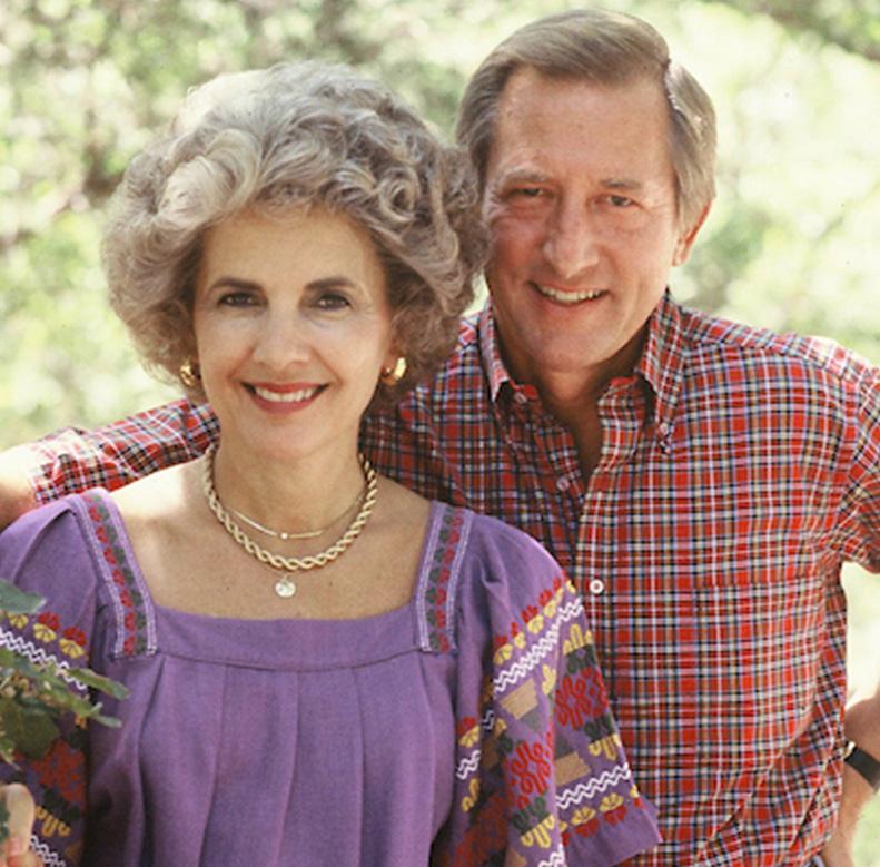 Howard E. Butt Jr. & his wife Barbara Dan
