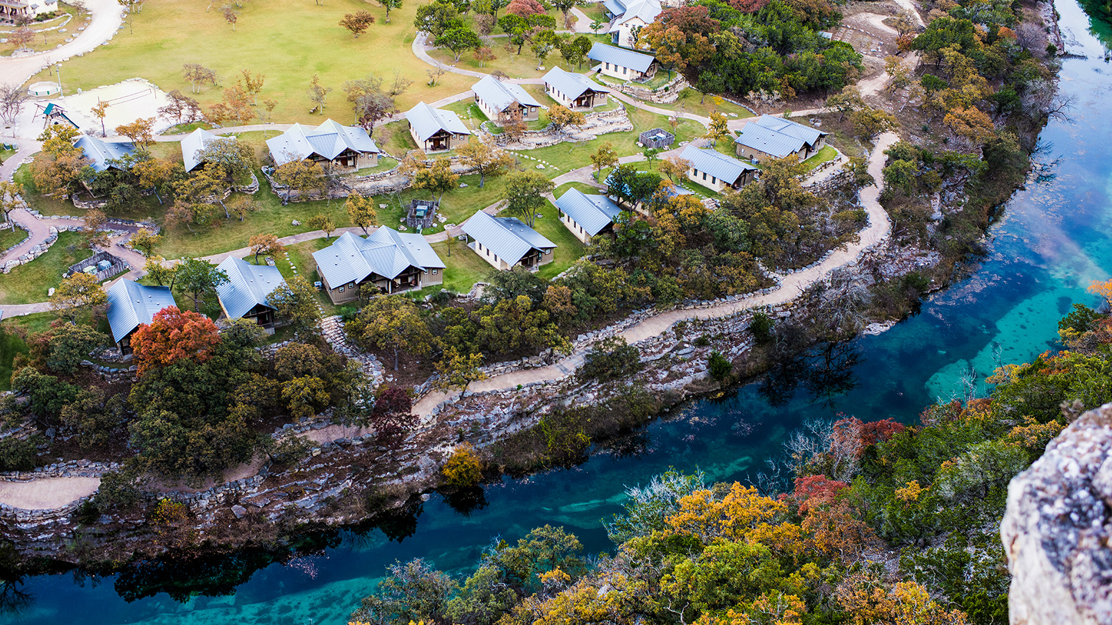 Laity Lodge Family Camp offers high-quality weeklong and weekend getaways at the headwaters of the Frio River-set in the Texas Hill Country's most spectacular canyon.  Photo / Wendi Poole