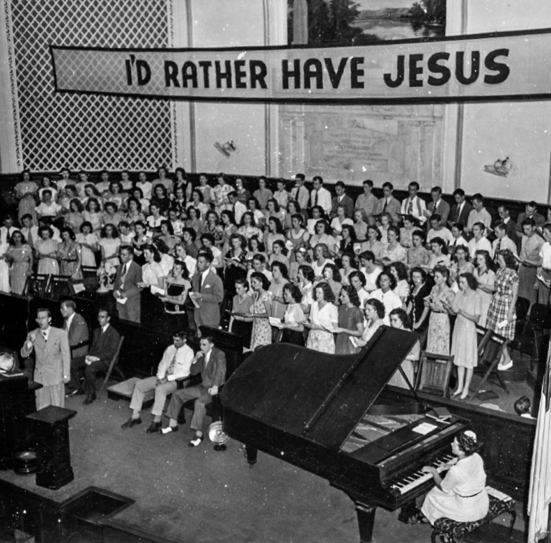 Houston youth revival, July 1949