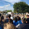 Cooperative Baptists trek to border for prayer, advocacy outside migrant child care center