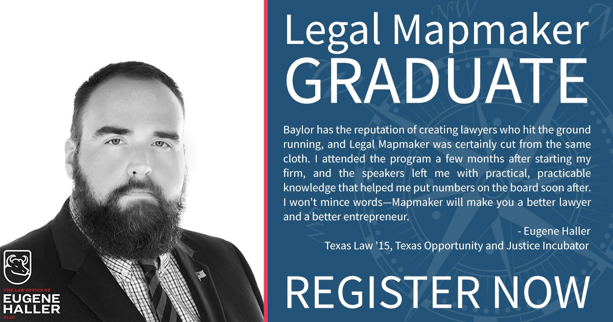 Button for Legal Mapmaker application