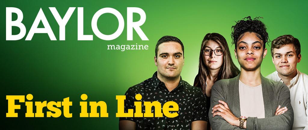 Baylor Magazine's Summer 2018 edition