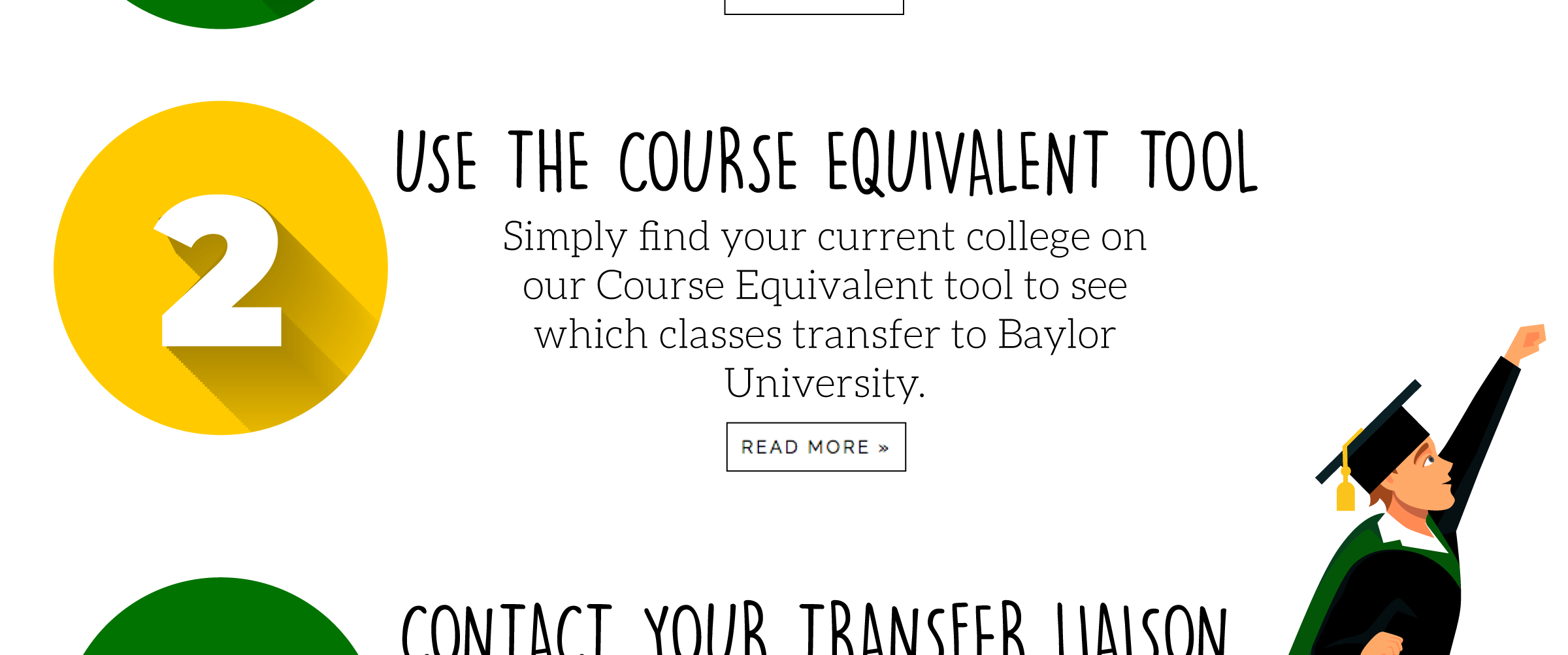 Baylor MCC Degree MAPs | Transfer Student Success | Baylor University