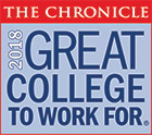 Chronicle: Great Colleges to Work for - 2018