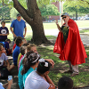 SOE Welcomes Students from Valley Mills with Superhero Theme