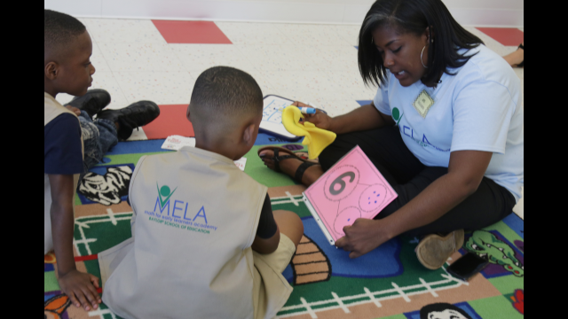 Baylor's Math for Early Learners Academy Underway