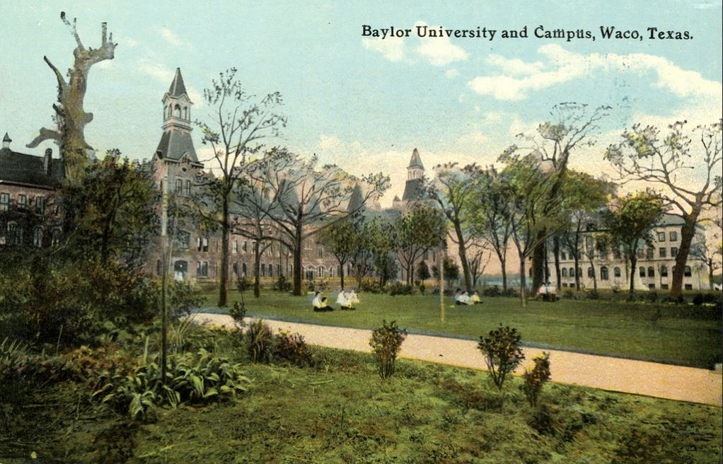 Take a Tour through Baylor History
