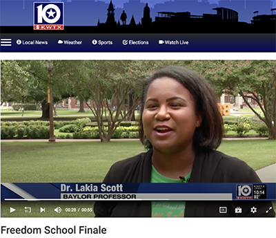 Dr. Lakia Scott on KWTX