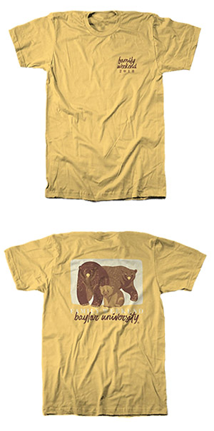 Family Weekend 2018 T-shirt: Family of Bears