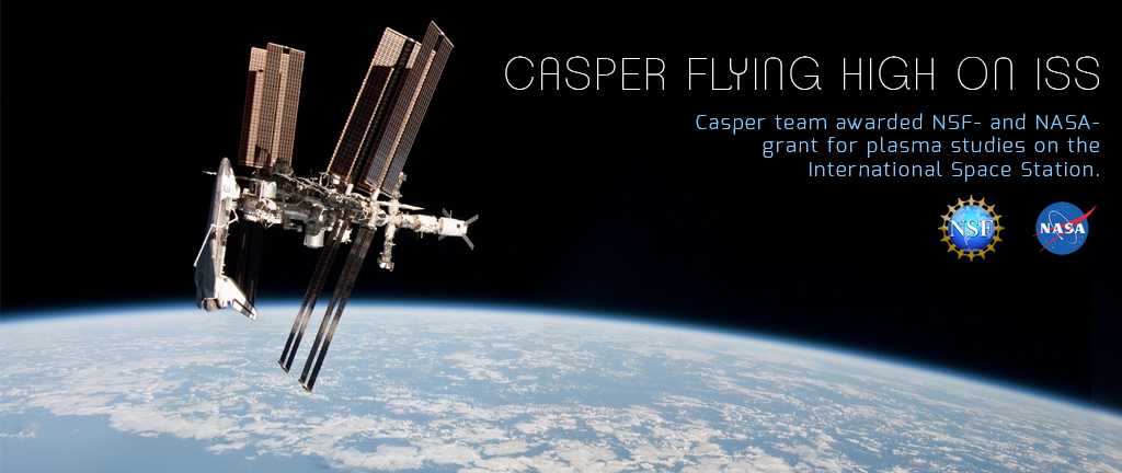 CASPER Lab Flying High on the International Space Station