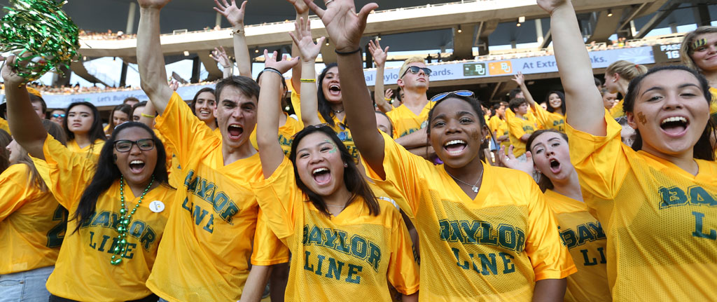 Football Student Gameday Baylor University